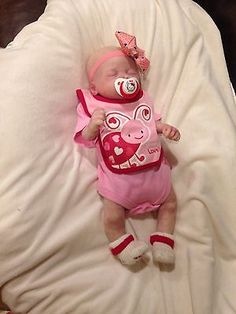 Boo Boo Full Body Silicone Baby Doll.
