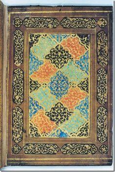 Fig. 2. Doublure of Khusraw va Shirin of Hatifi. Metropolitan Museum of Art, 69.27.