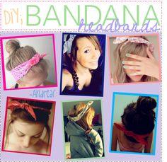 """""""BANDANA headbands ♥"""""""