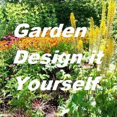 Learn all about drawing garden layouts -