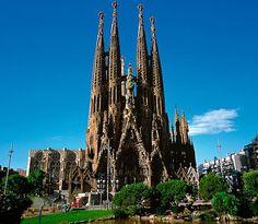 12: Gaudi's Sagrada Familia Cathedral, Barcelona  Picture: ALAMY