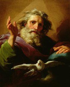 God the Father 1779.  Pompeo Girolamo Batoni.