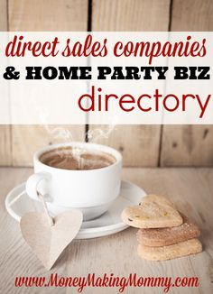 A huge directory that is super easy to navigate and filled with all the current direct sales companies and home party plan businesses. Find the best direct sales company for your interests. Start researching and discovering at MoneyMakingMommy.com.
