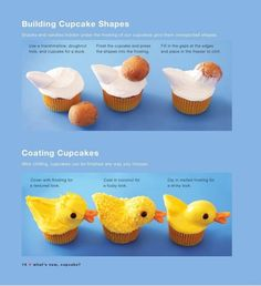 This helped out tons making my brothers cupcakes. DIY duck cupcakes!