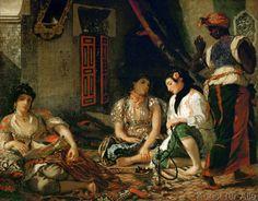 Eugène Delacroix - Les femmes d'Alger dans leur appartement