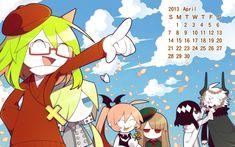 calendario mogeko abril