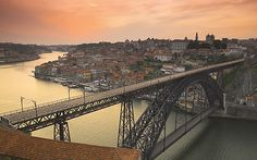 size: Photographic Print: River Douro and Dom Luis I Bridge, Porto, Portugal by Alan Copson : Artists Sintra Portugal, Visit Portugal, Portugal Travel, Places To Travel, Places To See, Travel Destinations, Travel Expert, Trip Planning, Planning Board