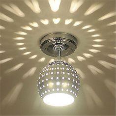 Modern E27 Ceiling Light With Scattering Globe LightDesign Shadow Effect