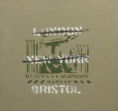 Banksy, 'London, New York, Bristol (Heavy Weaponry),' 2000, Andipa Gallery