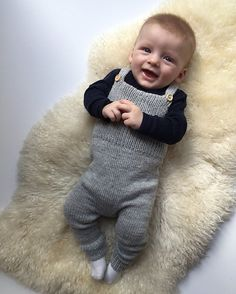 Ravelry: Willum's Overalls pattern by Petite Knit