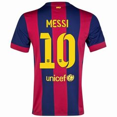 Lionel Messi #10 Barcelona 15/16 Home Jersey