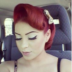 pretty pinup hair
