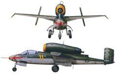 Heinkel He 162, Salamander