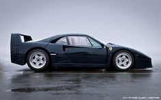 Ferrari F40 Pozzi Blue - ultra rare colour in honour of the leading French importer.