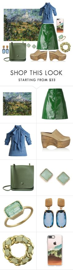 """""""Untitled #2235"""" by moestesoh ❤ liked on Polyvore featuring Courrèges, Erdem, Simon Miller, ABS by Allen Schwartz, Irene Neuwirth, Marco Bicego, Chanel and Casetify"""