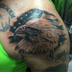 Eagle - Chad Miskimon @chad_miskimon - 2200 Philadelphia Rd Edgewood MD #tattoo…