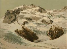 Valais. Alpes valaisannes. Le Mont Rose.     #Europe #Suisse_Schweiz