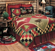 Lodge Bedding Sets In A Bag.11 Best Wildlife Bed In A Bag Sets Images Rustic Bedding