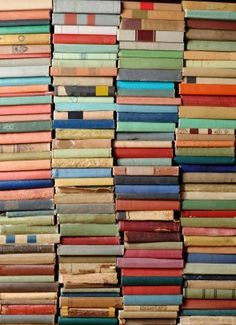 I know these are just books. But aren't the colors amazing!
