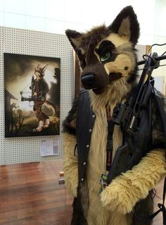 Awesome fursuit