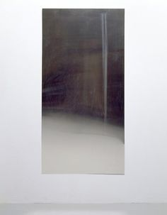 Roger Hiorns . Young Offender, 2004 . Sterling silver, amyl nitrate, (100 x 50cm)