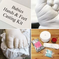 Excited to share the latest addition to my etsy shop src babies why not either buy to produce for yourself or create your own cast to give to someone babies hands feet casting kit impression castingkit solutioingenieria Gallery