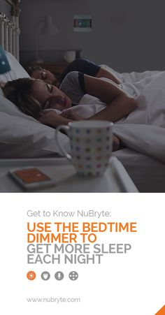 Tips for falling asleep faster with NuBryte!
