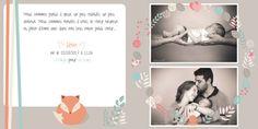 Faire-part de naissance | Léon | Presse ta Com