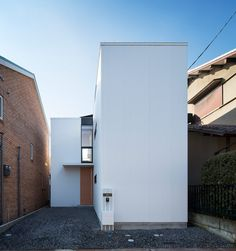 container design aligns axial house of shimamoto-cho - designboom | architecture