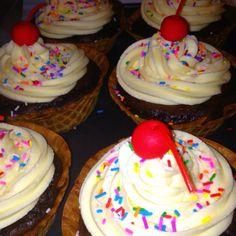 Sundae Cupcakes <3