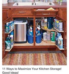 Organization under the sink