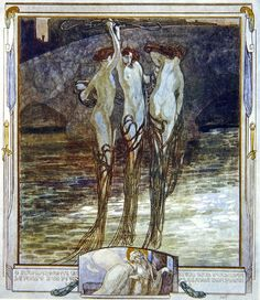 Franz Von Bayros' illustrations for The Divine Comedy