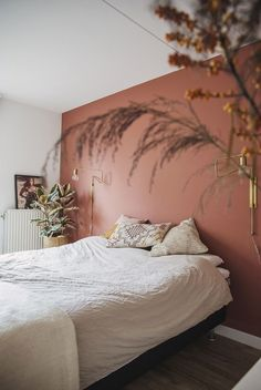 wall ideas for bedroom paint ~ wall ideas for bedroom + wall ideas for bedroom diy + wall ideas for bedroom paint + wall ideas for bedroom above bed + wall ideas for bedroom pictures Bedroom Inspo, Bedroom Colors, Home Decor Bedroom, Bedroom Furniture, Bedroom Ideas, Bedroom Wall Designs, Diy Bedroom, Girls Bedroom, Master Bedroom