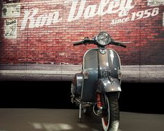 Scroll through the history of limited edition Ron Daley special Vespa PX scooters