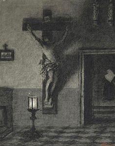 Xavier Mellery - Le Christ du Béguinage