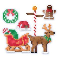 Christmas Perler Fun Fusion Kit-Sleigh Time