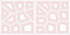 voronoi urban grid