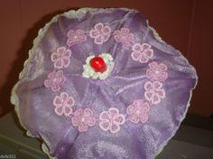 umbrella lavender fabric doll display cute for bear, ESTATE