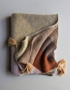Rectangular Colorblock Bias Blanket in New Colors