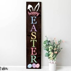 Easter Peeps, Hoppy Easter, Easter Bunny, Easter Crafts, Easter Decor, Holiday Crafts, Spring Crafts, Holiday Decor, Front Porch Signs