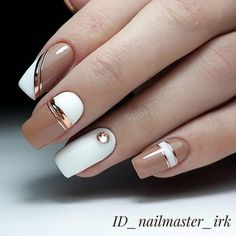 Too beautiful nude nails😍 - Marry Unhas nude linda demais😍 – Marry Ko. Too beautiful nude nails😍 – much - Square Nail Designs, Elegant Nail Designs, Cool Nail Designs, Cute Nail Art, Cute Acrylic Nails, Nude Nails, My Nails, Fall Nails, Summer Nails