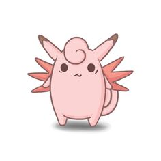 #36 Clefable by ColbyJackRabbit