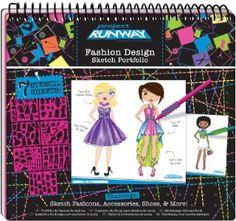 Kylee! Project Runway Fashion Design Sketch Portfolio:Amazon:Toys & Games
