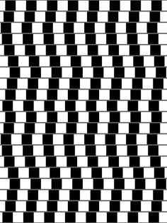 Abstract Black and White Geometric Pattern with Squares and Stripes. Optical Illusion. Wicker Structural Texture