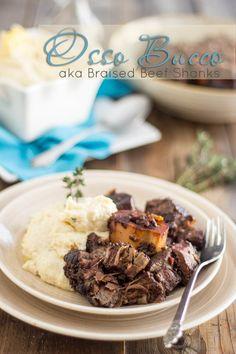 Osso Bucco aka Braised Beef Shanks | thehealthyfoodie.com