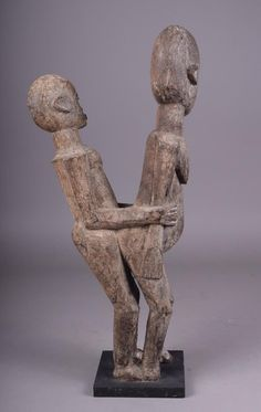 Lobi Bateba Betise (Copulating Couple Figure), Burkina Faso
