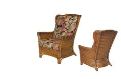 Casual, Contemporary and Conventional Outdoor Furniture Wingback Chair, Armchair, Indoor Wicker Furniture, Monte Carlo, Accent Chairs, Contemporary, Floral, Home Decor, Sofa Chair