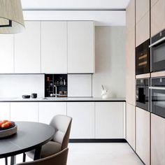 My Kitchen is Your Kitchen. Old School Design, Minimalism, Kitchen Cabinets, Table, Modern, Furniture, Home Decor, Kitchens, Trendy Tree
