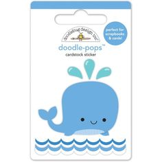 Item:4973 wally whale doodle-pops