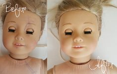 How to safely and easily remove ball point pen or permanent marker from your American Girl Doll